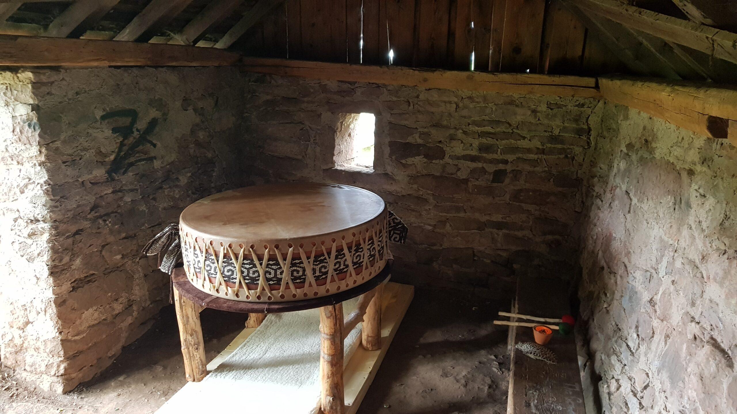 Alte, steinerne Hütte